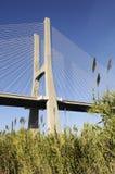 Vasco da Gama bridge, Lisbon, Portugal Stock Image