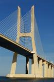 Vasco da Gama bridge, Lisbon, Portugal Stock Images