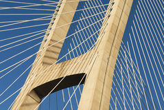 Vasco da Gama bridge, Lisbon, Portugal Royalty Free Stock Photography