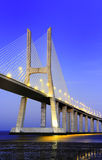 Vasco da Gama bridge, Lisbon, Portugal Stock Photo