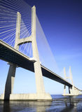 Vasco da Gama bridge, Lisbon, Portugal Stock Images