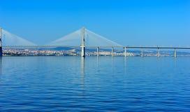 Vasco da Gama Bridge, Lisbon, Portugal Royalty Free Stock Image
