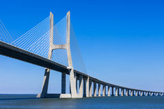 Vasco da Gama Bridge Royalty Free Stock Photo