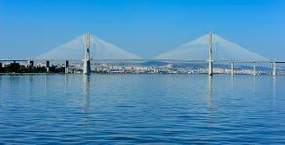 Vasco da Gama Bridge, Lisbon, Portugal Stock Photography