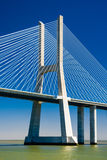 The Vasco da Gama Bridge in Portugal Stock Photos