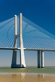 The Vasco da Gama Bridge in Portugal Stock Photography