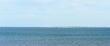 Vasco da gama bridge. Stock Photos