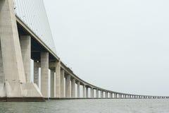 Vasco da Gama bridge Stock Photography