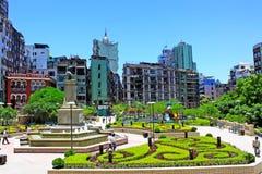 Vasco da Gama Garden Macao, Kina Royaltyfri Fotografi