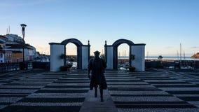 Vasco da gama-minnesmärke royaltyfri foto