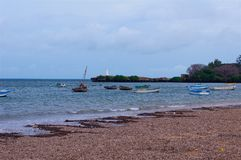 Vasco Da Gama Pillar Kenya Beach. Near Malindy in Kenya Stock Photography