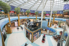 Vasco da gama shopping center. Very high resolution, 42.2 megapixels Stock Images