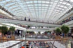 Vasco da Gama Shopping Centre in Lisbon. Portugal - mall interior royalty free stock photography