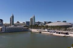 Vasco da Gama Shopping, Parque das Nacoes Imágenes de archivo libres de regalías