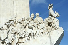 Vasco da Gama statue. In Lisbon Stock Photography