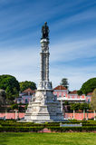 Vasco da Gama statue, Lisbon royalty free stock photo