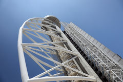 Vasco da Gama tower, Lisbon Stock Photos