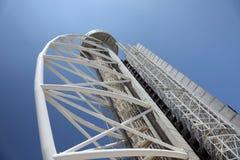 Vasco da Gama tower, Lisbon Stock Photos