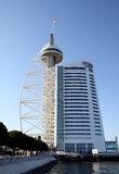 Vasco da Gama Tower in Lisbon Royalty Free Stock Photo