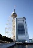 Vasco da Gama Tower in Lisbon Royalty Free Stock Photo