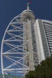 Vasco da Gama Tower in Lisbon Royalty Free Stock Photography