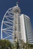 Vasco da Gama Tower in Lisbon Stock Image