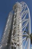 Vasco da Gama Tower in Lisbon Stock Photo