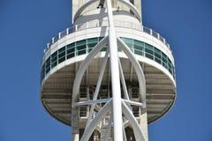 Vasco da Gama tower in Lisbon, Portugal Royalty Free Stock Image