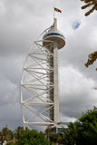 Vasco da Gama Tower in Nations Park, Lisbon. Stock Image