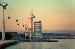 Vasco da Gama Tower Royalty Free Stock Photography