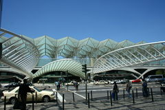 Vasco da Gama tunnelbanastation Arkivbilder
