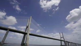 Vasco de Gama Bridge στη Λισσαβώνα φιλμ μικρού μήκους