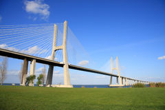 Vasco de Gama Bridge Stock Photography