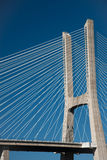 Vasco de Gama bridge, Lisbon Stock Image