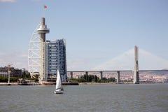 Vasco de Gama tower Stock Photography