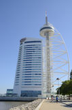 Vasco de Gama tower Stock Photos