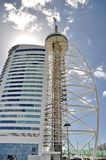 Vasco De Gama tower in Lisbon Stock Image