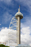 Vasco de Gama tower, Lisbon, Portugal Stock Photos