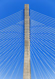 Vasco De Gamma bridge Royalty Free Stock Photo