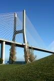 Vasco Gama bridge Royalty Free Stock Image