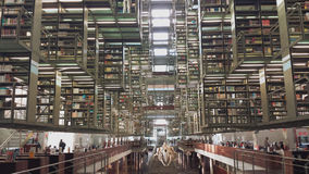 Vasconcelos图书馆 库存照片