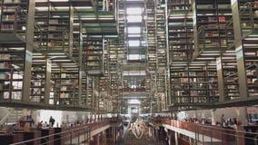 Vasconcelosbibliotheek Stock Foto's