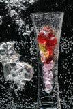 Vase à bulle Image libre de droits