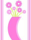 Vase à fleur illustration de vecteur