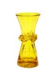 Vase à fleur en verre Images stock