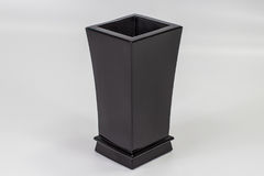 Vase à fleur grave fait en pierre 01 Images stock