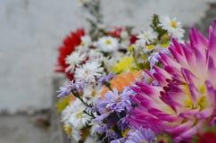 Vase à fleurs de bouquet Photographie stock