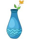 Vase à la maison à dessin animé Photos libres de droits