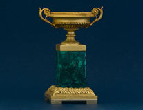 Vase à malachite Image stock