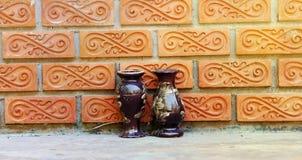Vase à mur photographie stock libre de droits